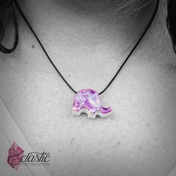 Small Elly in purple