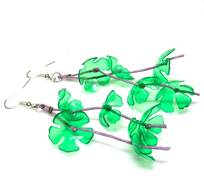 Flowers fall earrings